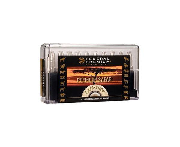Federal Premium Cape Shok 416 Rigby 20rd Box/10 box Case