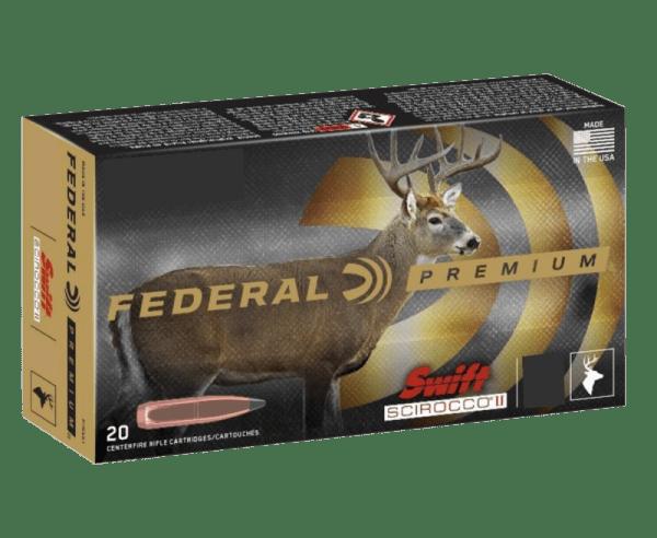 Federal Premium Brass .30-06 Springfield 165 Grain 20-Rounds SSII