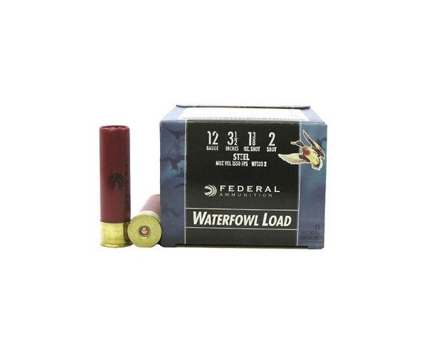 Federal WF1332 SPDSHk 12 13/8 STL 25 Rounds Per Box