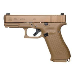 """Glock 19x Gen 5 Coyote Tan 9mm 4.01"""" Barrel 19-Rounds"""