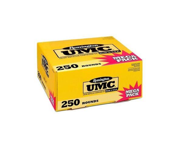 Remington Ammunition UMC Mega Pack 9mm 115GR FMJ 250Rds
