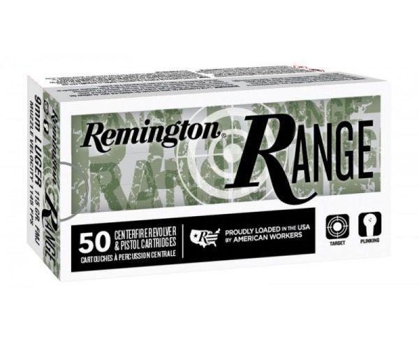 Remington T9MM3 Range Ammunition 9mm 115GR FMJ 50rd Box