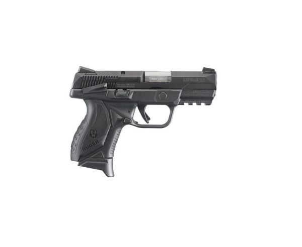 Ruger American Compact 9MM Black 3.55-inch 17rd with safety