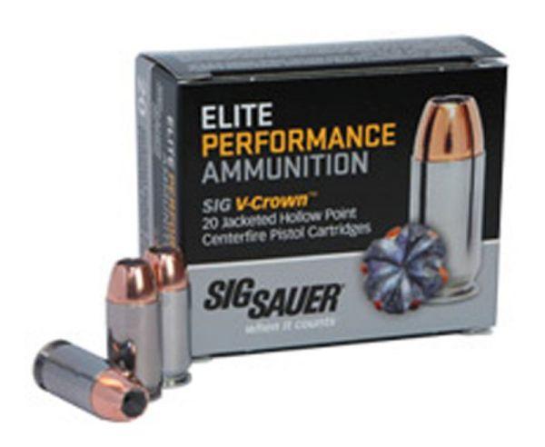 Sig Sauer Elite V-Crown 45 Auto 230grn 20Rds