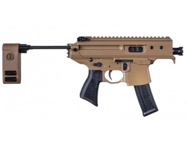 Sig Sauer MPX Copperhead Coyote Tan 9mm 3.5-inch 20Rds
