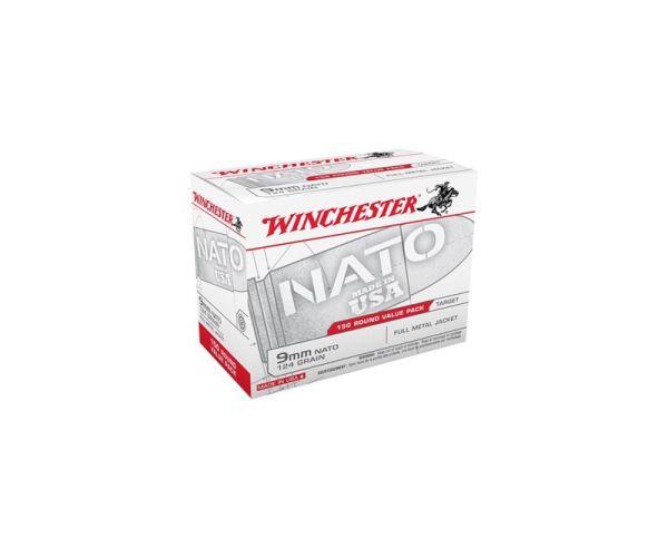 Winchester Ammunition NATO Ammunition 9mm 150Rd 124 GR