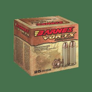 Barnes Bullets VOR-TX Brass .454 Casull 250-Grain 20-Rounds BXPB