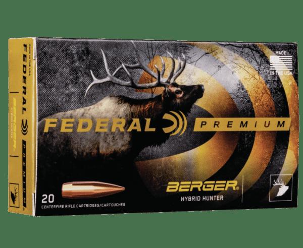 Federal Premium Nickel Plated Brass .30-06 168 Grain 20-Rounds BHH