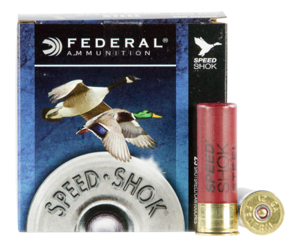 "Federal Speed-Shok 12 GA #4 Shot 25-Rounds 3"""