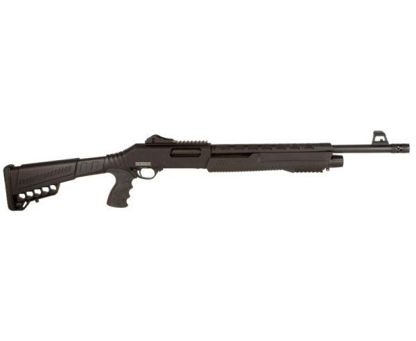Dickinson Defense Black 12GA 18.5-inch 5rd