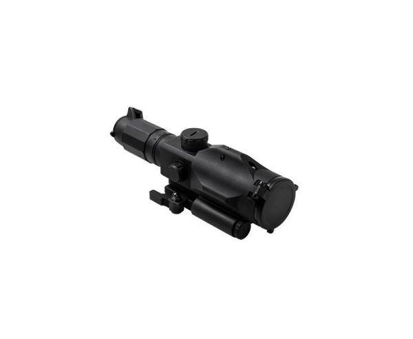 NC Star SRT Scope 3-9x40mm, P4 Sniper Reticle with Green Laser