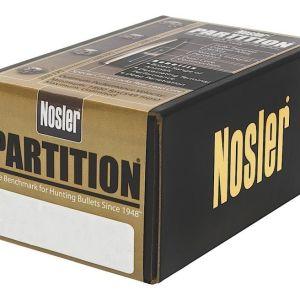 Nosler Partition Copper .30 Caliber 300-Grain 50-Rounds Spitzer