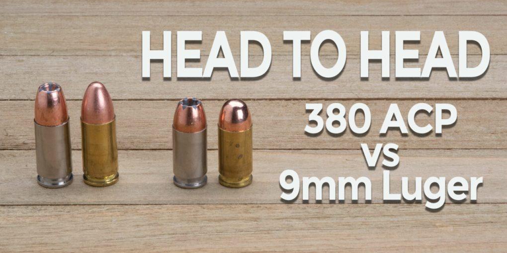 Head To Head: 380 vs 9mm