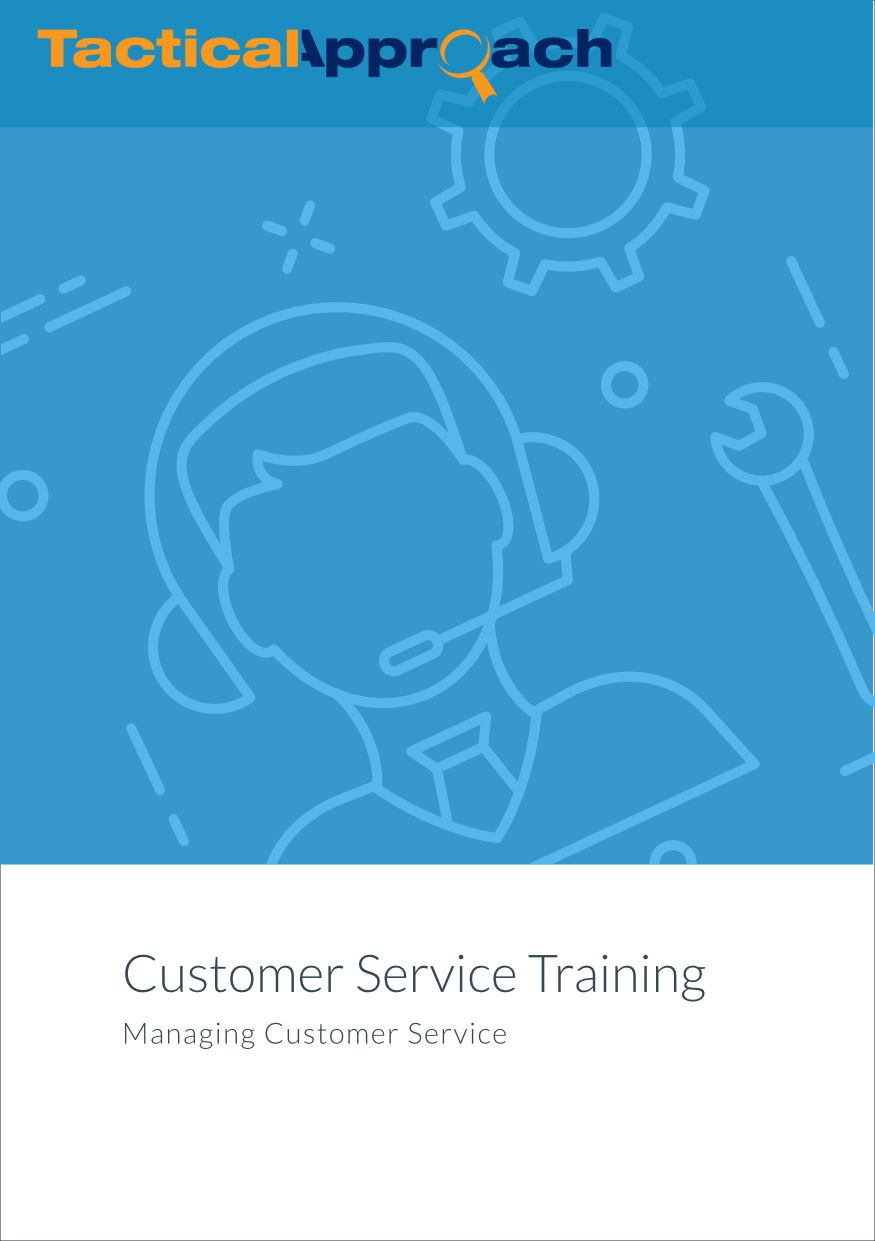 Customer Service Training: Managing Customer Service