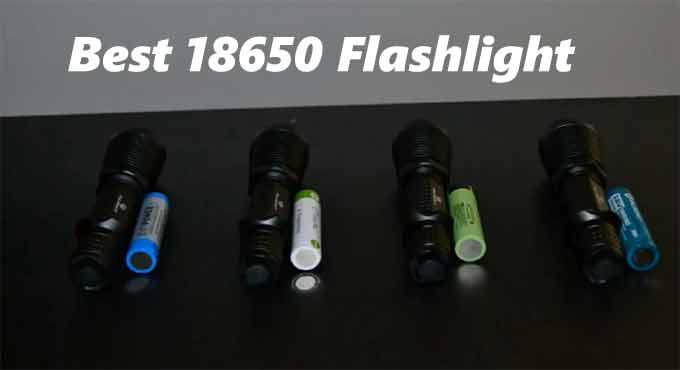 best 18650 flashlight
