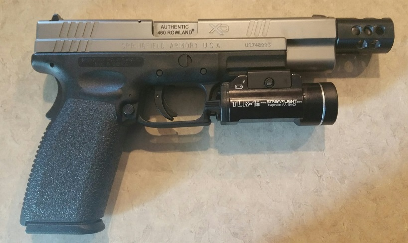 Springfield XD Tactical turned 460 Rowland Review
