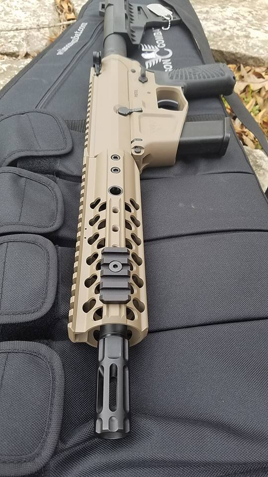 Wilson Combat AR9 with Glock mag is here