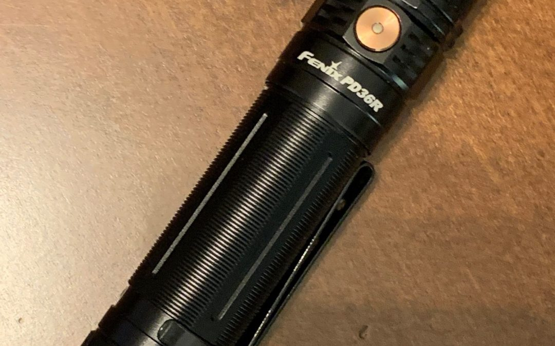 Fenix PD36R Rechargeable Flashlight Review
