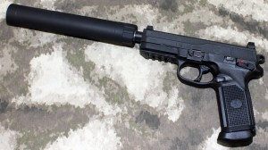 FN FNP 45 TACTICAL SUPPRESSED AAC TiRANT 45