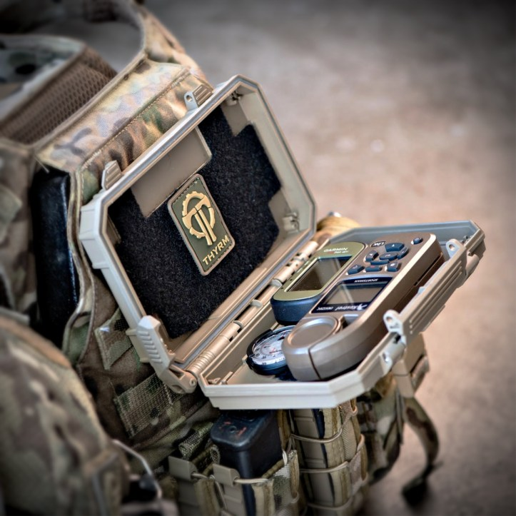 DarkVault-Comms™ Critical Gear Cases. Developed with input from military and law enforcement customers, the cases provide battlefield-grade levels of protection while keeping gear immediately accessible for navigation and communication tasks.