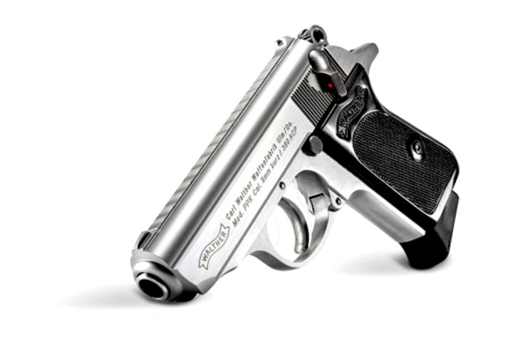 The Walther Stainless PPK is chambered in.380 ACP.