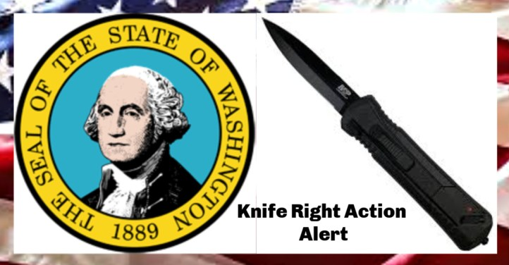 "From Knife Rights: The Washington ""Spring Blade"" Knife Ban Repeal bill, SB 5782, which passed the Senate 46-1, has been scheduled for a hearing in the House Civil Rights & Judiciary Committee on Tuesday, Feb. 25."