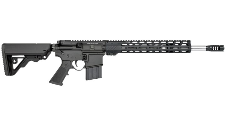 The LAR-15M .450 Bushmaster from Rock River Arms is M-Lok compatible with a lightweight, free-float rail.