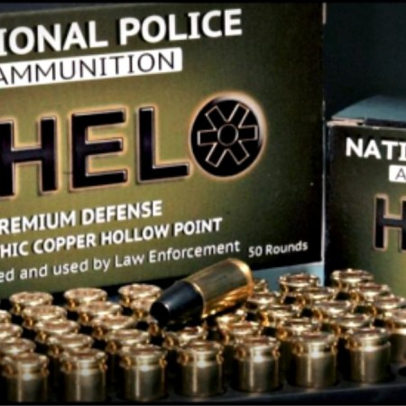 National Police Ammunition Introduces 9mm Solid Copper Hollow Point +P HELO Defense Round