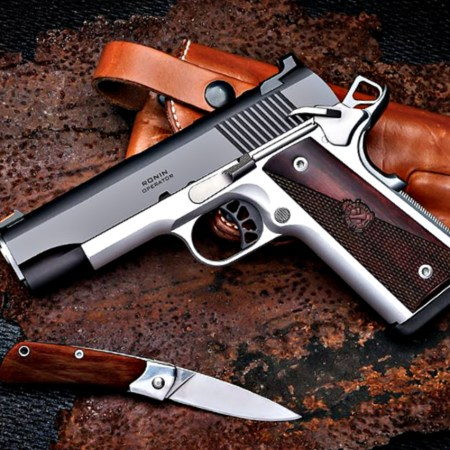 "Springfield Armory Ronin Operator 4.25"" 1911 pistol in 9mm or .45 ACP.and"