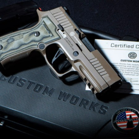 P320 AXG Scorpion - Sig Custom Works