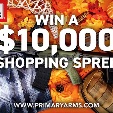 Primary Arms $10000 shopping spree Giving Thanks Giveaway 2020.