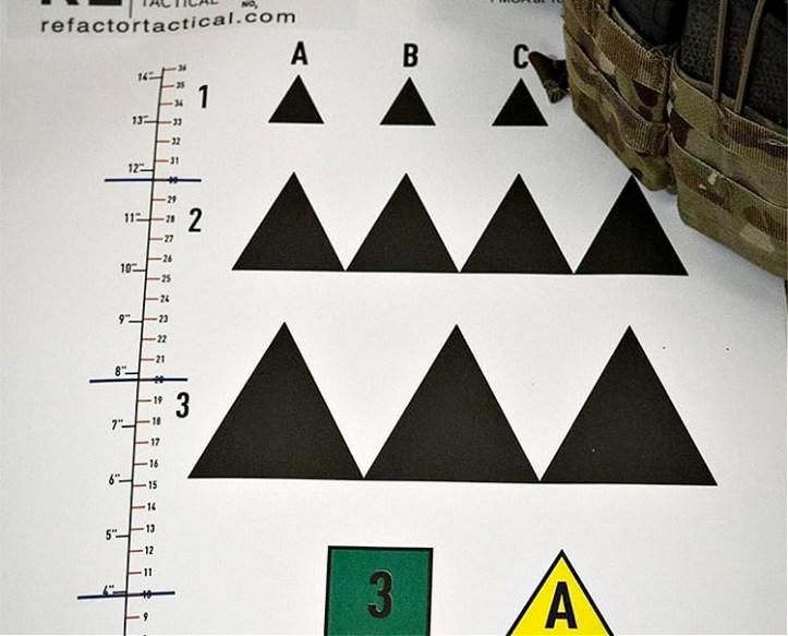 RE Factor Tactical Hitman paper target