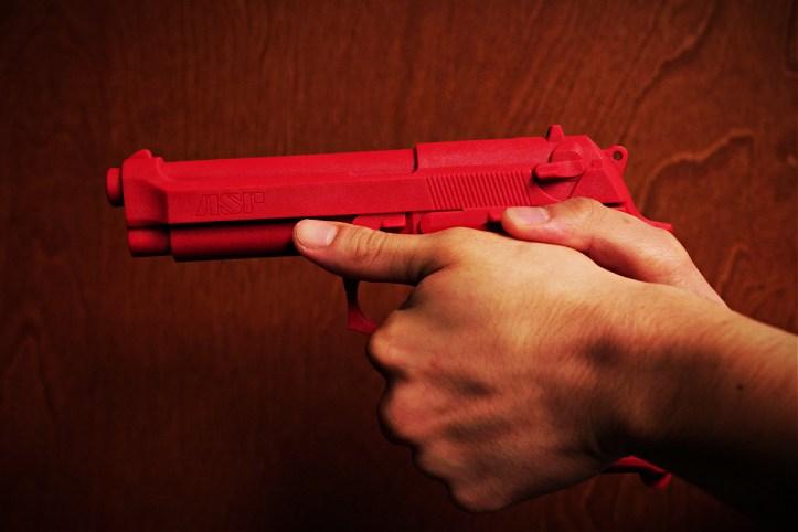 ASP Beretta 92 red training gun
