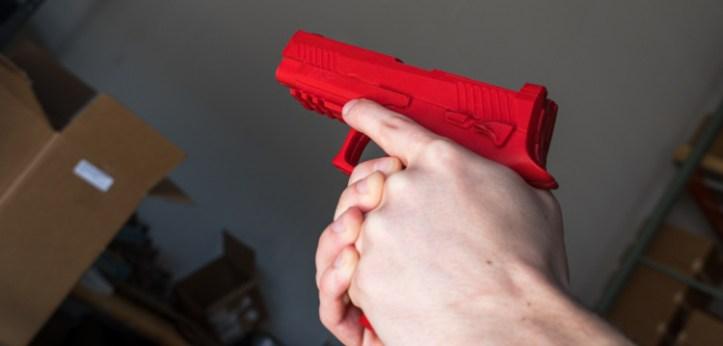 ASP M17 Red training gun