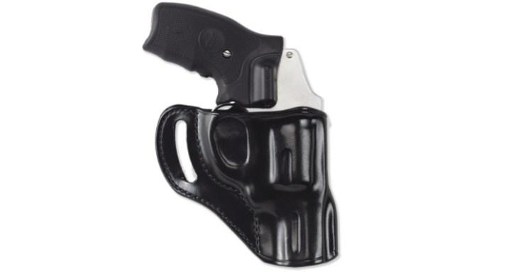 Taurus GX4 accessories - Galco Hornet Strongside / Crossdraw belt holster.