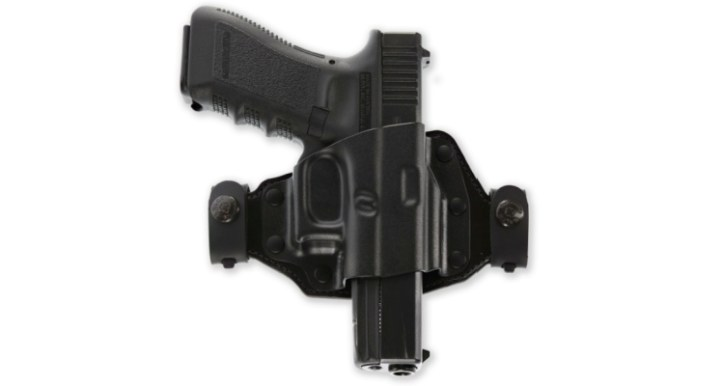 Galco Quick Slide hybrid holster,  will fit the Taurus GX4