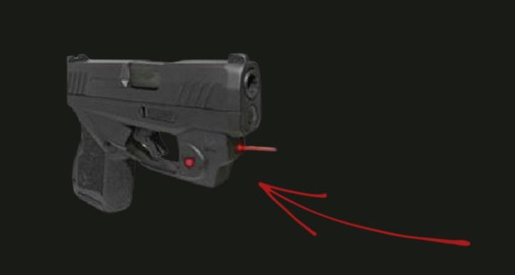 Taurus GX4 accessories Viridian E-Series Red laser