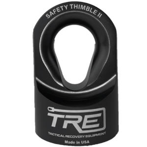 Safety Thimble II – Winch Thimble for 5/16″ to 7/16″ Synthetic Winch Rope