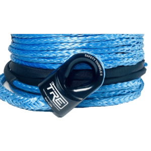 3/8 Inch Winch Rope - Replacement Winch Rope for 6,000 lb. to 12,000 lb. Winches