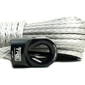 "3/8"" Silver Winch Rope & Safety Thimble"