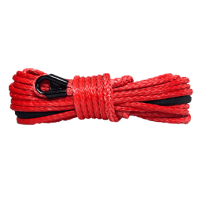 "1/4"" Synthetic Winch Rope - 9,000 lbs. Breaking Strength - Replacement Winch Rope for ATV & UTV and winches up to 4500 lbs."