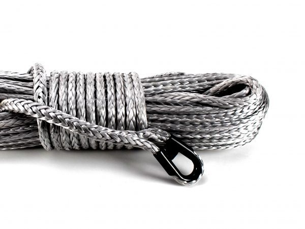 Silver Winch Rope