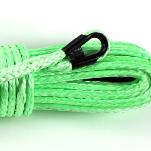 "3/8"" Lime Green Winch Rope"