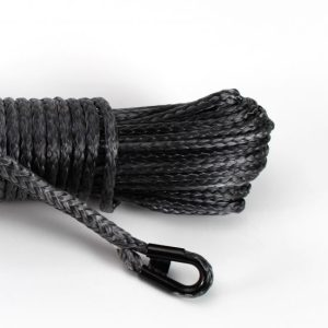 "3/8"" Black Winch Rope"