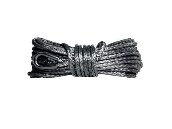 "3/8"" Black Winch Rope"