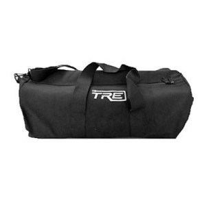 TRE Medium Black Canvas Duffel Bag