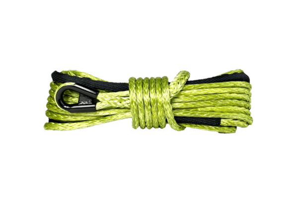 """3/8"""" Military Green Winch Rope"""