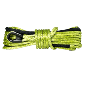 "3/8"" Military Green Winch Rope"