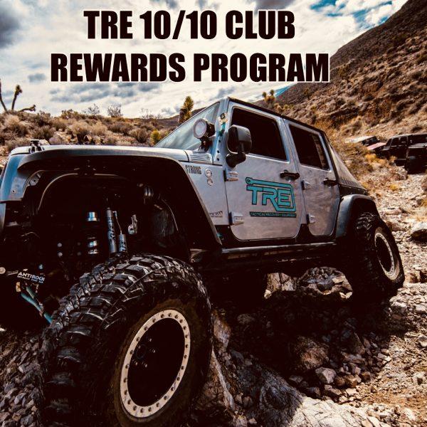 TRE 10/10 Club Rewards Program