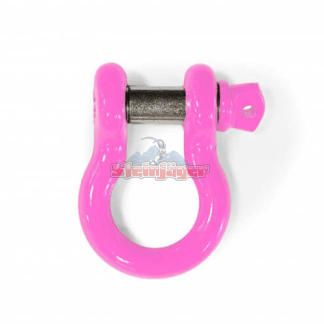 """Pink D-Ring - 3/4"""" Bow Shackle 